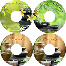 Healing Sounds Peace and Harmony Ultimate Relaxation 4 CDs Stress Relief Massage