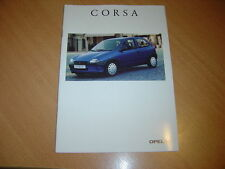 CATALOGUE Opel Corsa de 1996