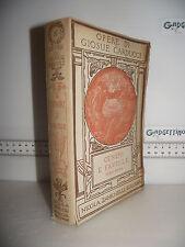 LIBRO Opere di Giosue Carducci CENERI E FAVILLE serie prima ed.1920
