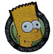 The Simpsons - Bart Simpson - Aufnäher Aufbügler Patch Badge - Neu #9083