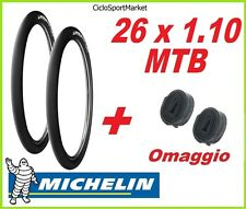 2 x Copertoni PIEGHEVOLE 26 x 1.10 SLICK MICHELIN Wild RUN'R per Mountain Bike