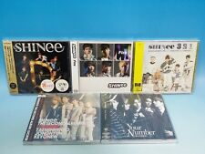 Brand New CD+Photo Card SHINee Dazzling Girl Fire 321 Your Number Lucifer SET