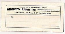 S992-VINO-ENOLOGIA DITTA BARATTINI BOLOGNA 1921 CIRCA