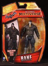 "2014 MATTEL DC COMICS MULTIVERSE BATMAN: ARKHAM ORIGINS BANE 4"" FIGURE MOC"