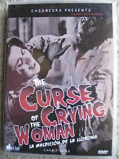 CURSE OF THE CRYING WOMAN (1961) (DVD) CASANEGRA - BRAND NEW, FACTORY SEALED!!!