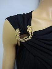 ''ON SALE'' Roberto Cavalli black sleeveless Full Length women's dress size - S