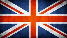 UK Flag Union Jack Britain CANVAS PRINT  A3 Abstract poster #2
