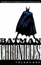 Batman Chronicles Vol. 1 by Bill Finger and Gardner Fox 2005, TPB DC Comics