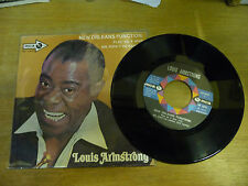 "LOUIS ARMSTRONG""NEW ORLEANS FUNCTION-disco 45 giri MCA Italy 1970"""