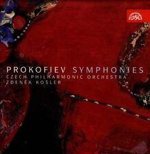 Prokofiev: Symphonies nos 1 - 7 (complete) / Czech Philharmonic - Zdenek Kosler,