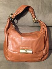 COACH Kristin Saddle Brown Leather Handbag Hobo Purse Satchel 16787