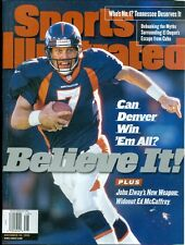 1998 Sports Illustrated: John Elway - Denver Broncos - No Mail Label