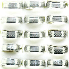 New 10Pcs Mix Size Double Layer Spin Icon Stainless Steel Ring Free shipping T22