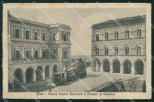 Chieti Città Palazzo Giustizia Tram cartolina VK0306