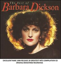 Barbara Dickson - The Very Best 20 Greatest Hits Collection - RARE CD 70's 80's