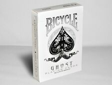 Bicycle White Ghost Deck Playing Cards by Ellusionist Sealed
