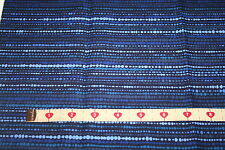 ½ Metre Blue dot/stripe - 100% Cotton: Quilting and Patchwork Fabric