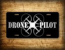 Drone Pilot Quad Copter License Plate UAV Auto Tag RC Inspire DJI Phantom Vision