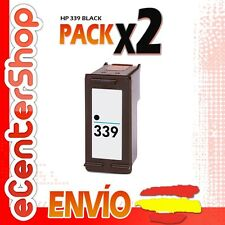 2 Cartuchos Tinta Negra / Negro HP 339 Reman HP Officejet 7210 XI