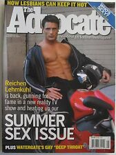 REICHEN LEHMKUHL  August 2005 THE ADVOCATE Summer SEX Issue!