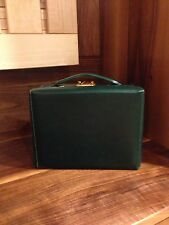 Vintage Mark Cross - Grace Small Trunk Box - Handbag - Forest Green