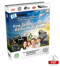 EZ Battery Reconditioning How To Recondition Batteries At Home By Tom Ericson