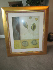 Large modern picture in Gold Frame