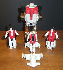 G1 Vintage Transformers Autobots Aerialbots Superion - Lot of 4 *METAL Chests*