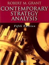 Contemporary Strategy Analysis - Robert M Grant fifth edition