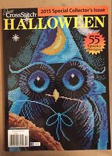 Just Cross Stitch Halloween Spooky Designs Collector's Issue 2015 FREE SHIPPING!