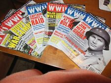 America in World War II Magazine Entire Year 2011 Great Codition Six Issues