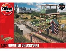 AIRFIX A06383 Frontier Checkpoint Scenery & Buildings 1:32 Plastic Model Kit