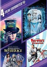 Tim Burton Collection: 4 Film Favorites (DVD, 2014, 4-Disc Set)