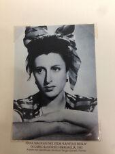 RIPRODUZIONE FOTO ALINARI ANNA MAGNANI BEL FILM LA VITA E' BELLA 9X12 1942 (5)