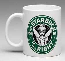 CUSTOM MADE Starbucks Disney Tinkerbell Peter Pan Logo Coffee Mug Tea Cup Gift