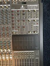 Behringer Eurodesk MX 8000 mit Netzteil 8-BUS Mixing Console