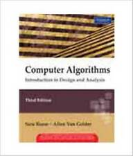 FAST SHIP - BAASE GELDER 3e Computer Algorithms: Introduction to Design and