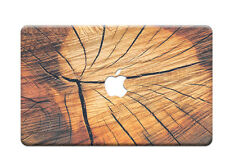"""Colorful Wood Painted Laptop Hard Case Cover for Macbook Pro 13 """"15 Air 11"""" 12 """""""