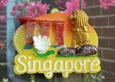 Singapore Merlion Tourist Travel Souvenir 3D Resin Decorative Fridge Magnet