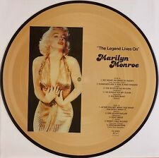 """12"""" LP - Marilyn Monroe - The Legend Lives On - B500 - washed & cleaned"""