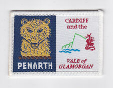 UK / BRITISH SCOUTS - WALES CARDIFF & THE VALE OF GLAMORGAN PENARTH SCOUT PATCH