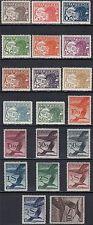 Österreich 1925 Nr. 468-487 Flugpostmarken postfrisch Höchstwert Befund VÖB