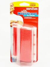 Mr. Clean Magic Eraser ALL PURPOUSE Reusable Handy Grip RED COLOR