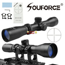 2-7x32 Multi CoatedOptics Long Eye Relief 350mm Rifle Scope &Mounts for Hunting