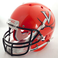 "VIRGINIA CAVALIERS **MINI** Football Helmet Nameplate ""ACC"" Decal/Sticker UVA"
