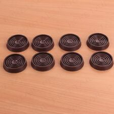 8 x THICK RUBBER CASTOR CUP Furniture/Bed/Leg/Wood/Laminate/Tile/Carpet/Floor