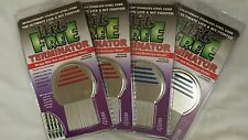2 pk Nit Free Brand Terminator Comb Rid Head Lice Fast uni sex long & short hair