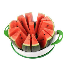 Home Basics® Heavy Duty Melon Slicer with Rubber Grip Handles