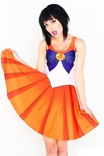 Original LIVING DEAD CLOTHING Sailor Moon - Venus Kleid Dress Cosplay 34 XS
