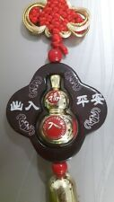 Gold-plated Wu Lou / Gourd Feng Shui Good Health Lucky Energy